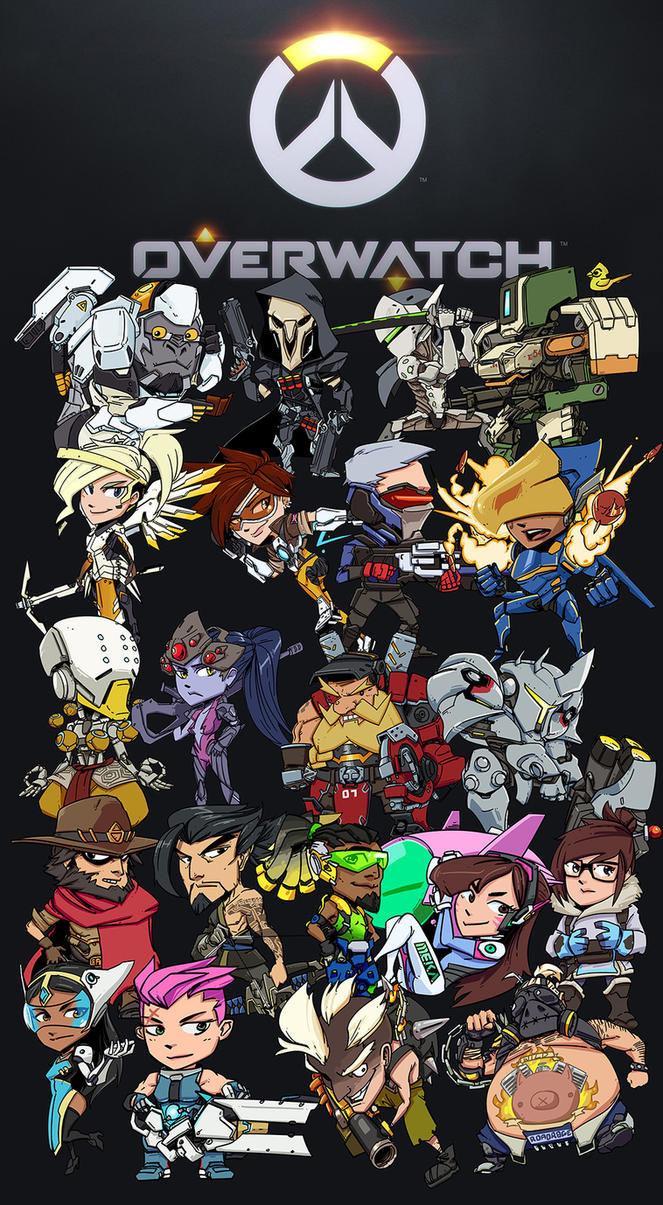 Overwatch Charms by PumaDriftCat