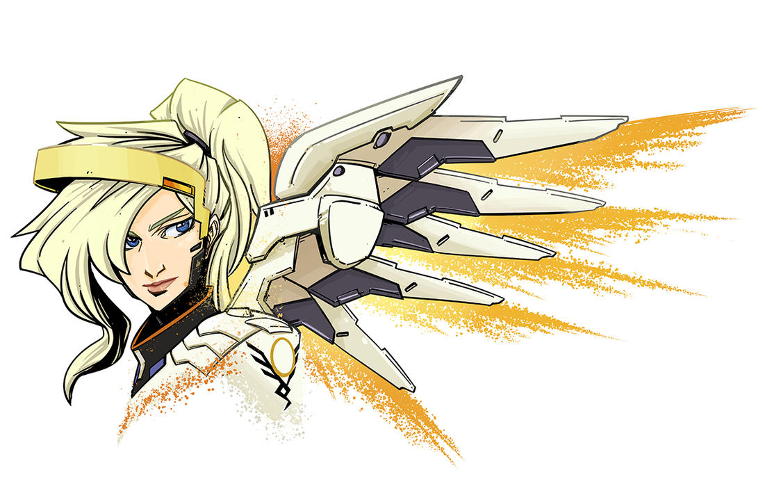 Overwatch Mercy by PumaDriftCat