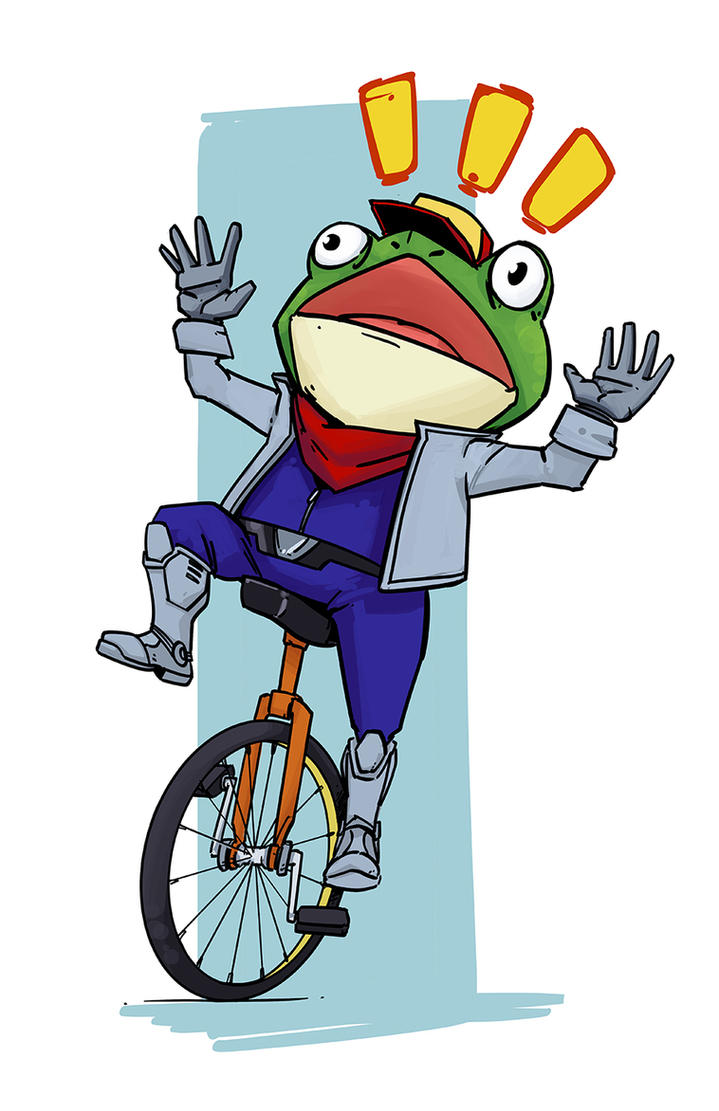 Dat Slippy Toad by PumaDriftCat