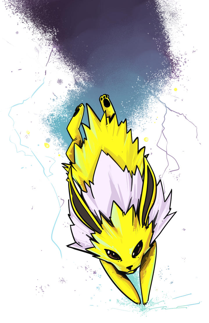 Jolteon by PumaDriftCat
