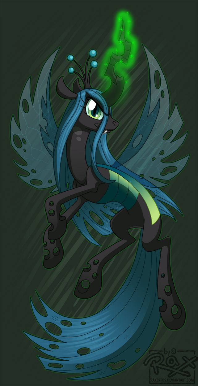 MLP FIM - Changeling Queen Chrysalis by RRRAX