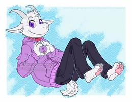 Goat love by RRRAX