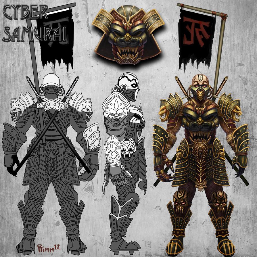 Cyber Samurai by PTimm