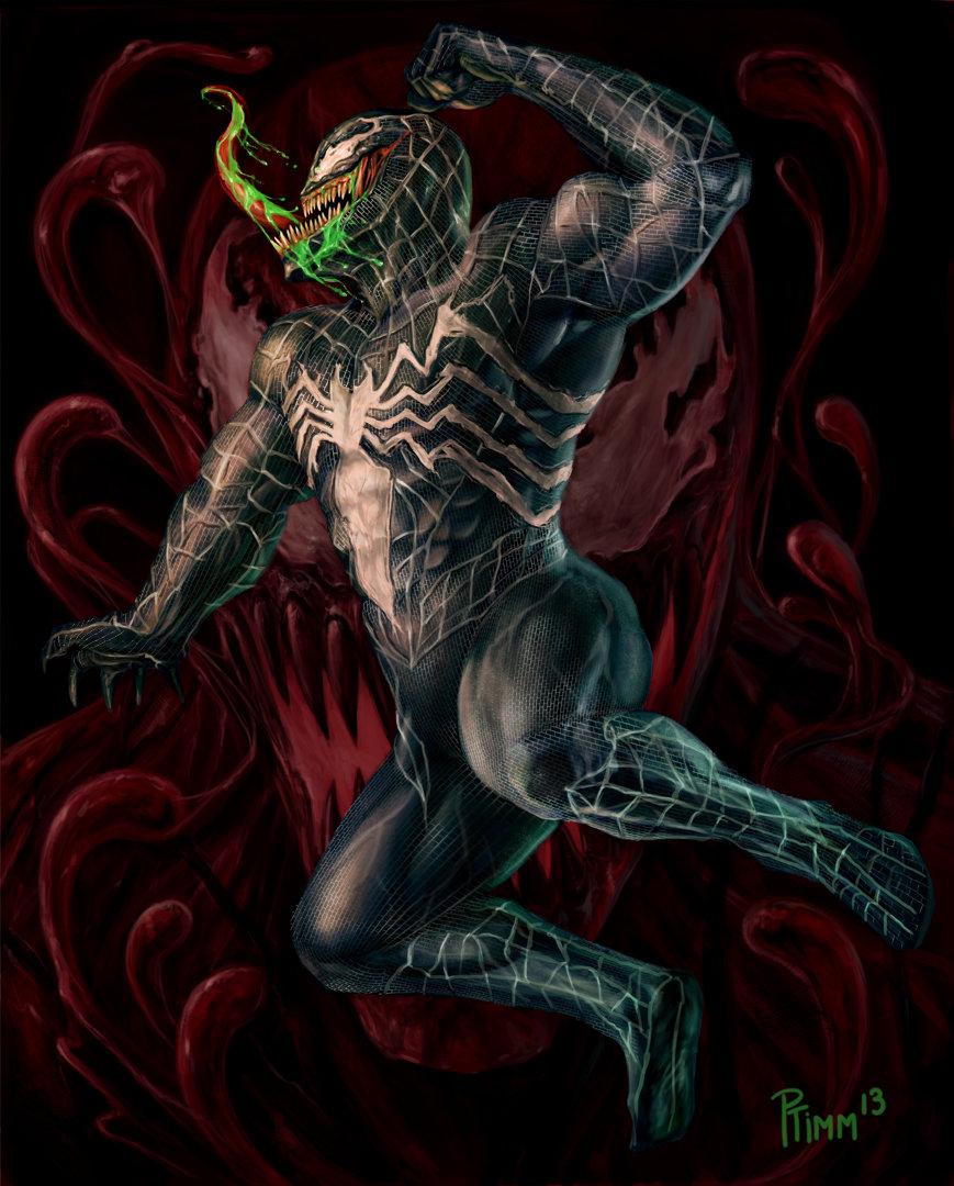Venom By Ptimm Dou On Deviantart
