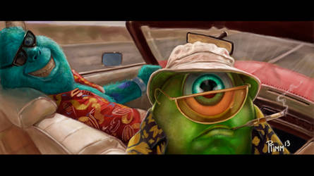 Fear and Loathing in Monsters Inc. by PTimm