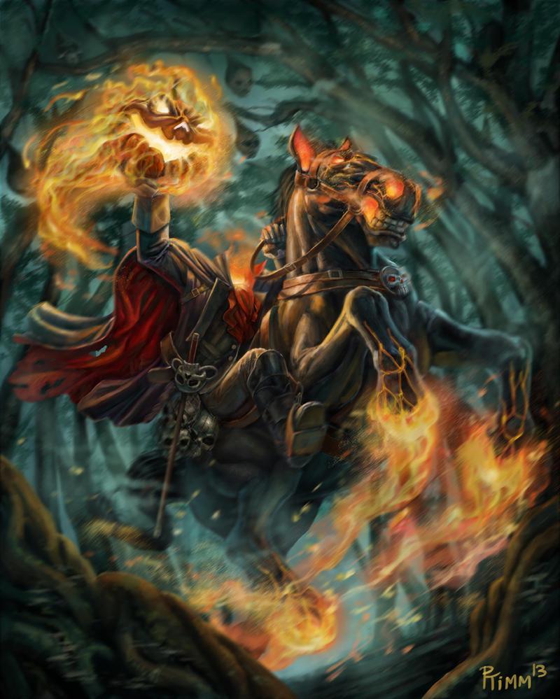 The headless horseman by ptimm on deviantart - Pictures of the headless horseman ...