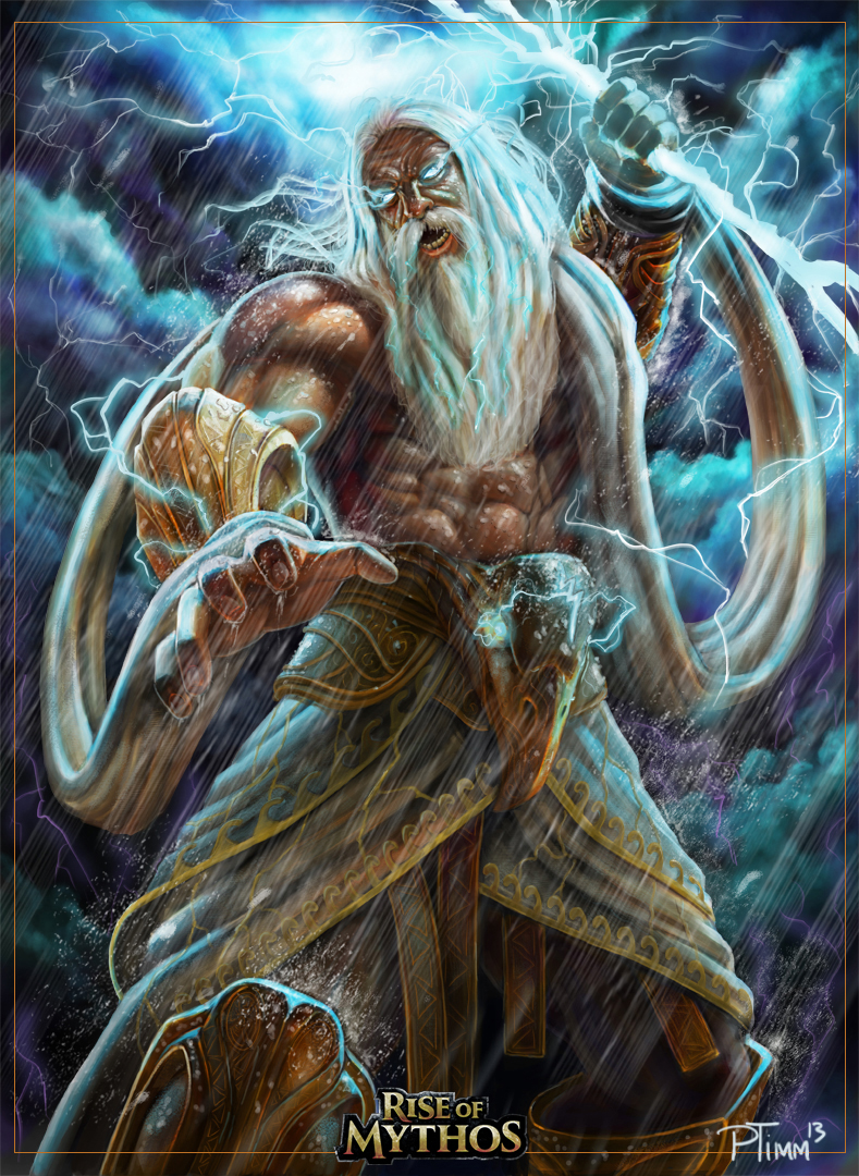 Zeus by PTimm on Devia... Zeus Digital Painting