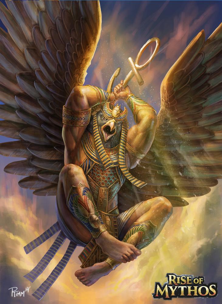 horus Horus in battaglia - by PTimm DeviantArt (2014-2017) © dell'autore