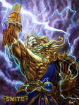 Official Zeus Gold Skin Smite