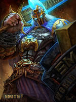 Ares Official Smite 2015 World Champion Skin by PTimm