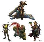 Paizo Characters