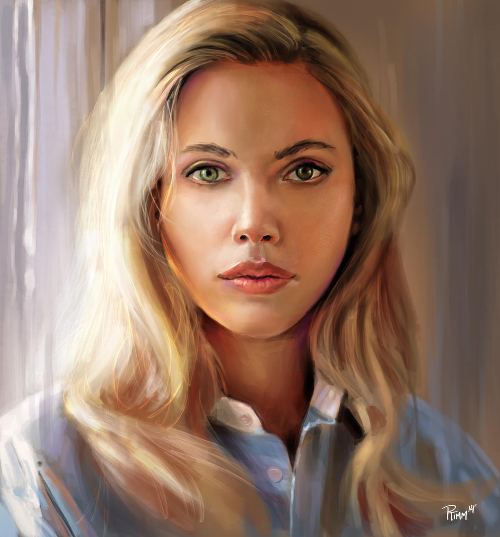 Scarlett Johansson Study by PTimm on DeviantArt