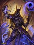 Smite Anubis Nightwalker Skin