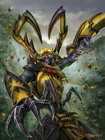 Ah Muzen Cab Killer Bee by PTimm
