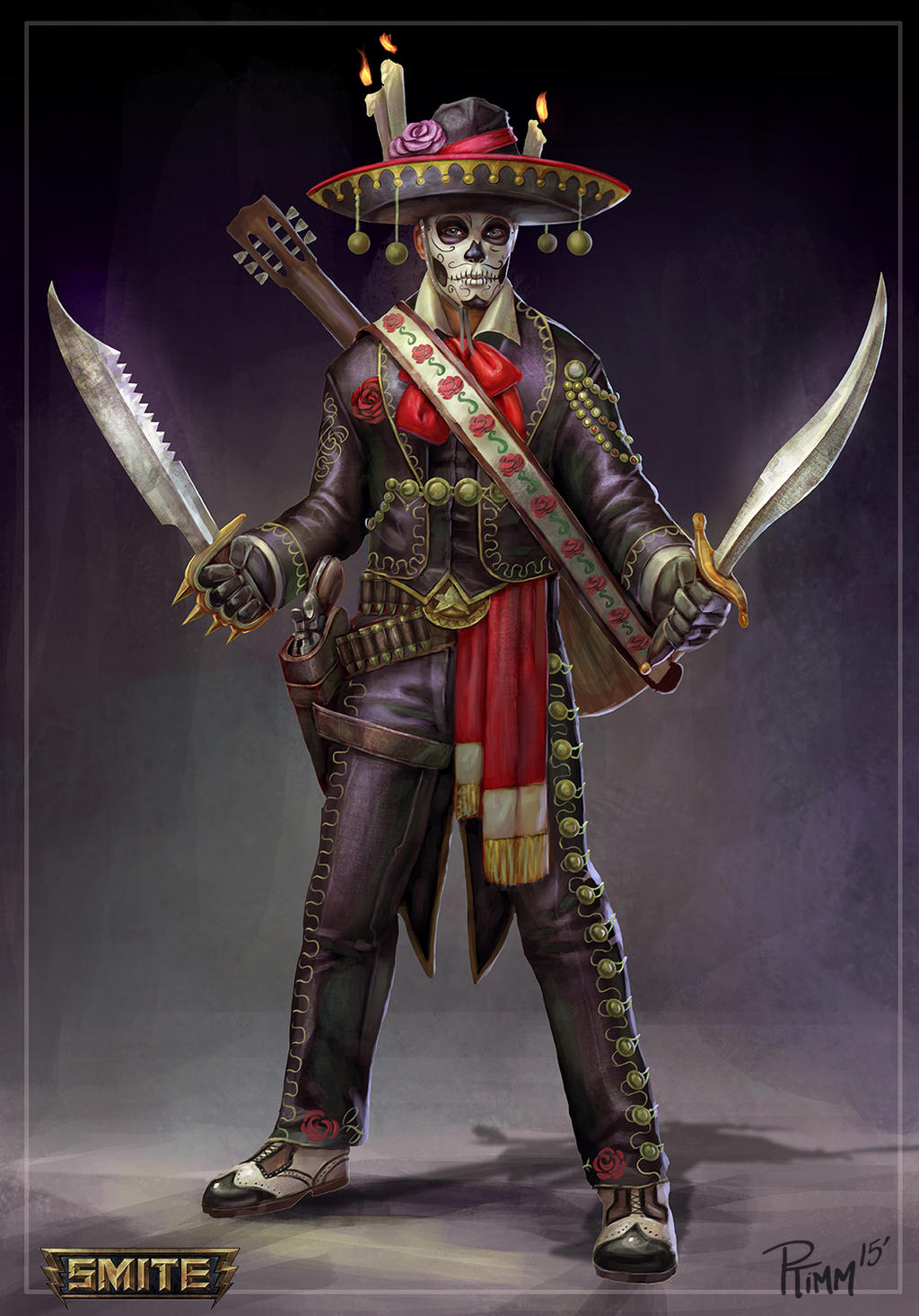 Day of the Dead Loki Concept by PTimm