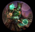 Futuristic Wizard