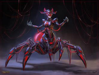 Grim Weaver Arachne Concept by PTimm