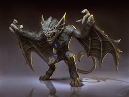Camazotz Gargoyle Concept by PTimm