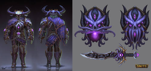 Abyssal Knight Ares Concept