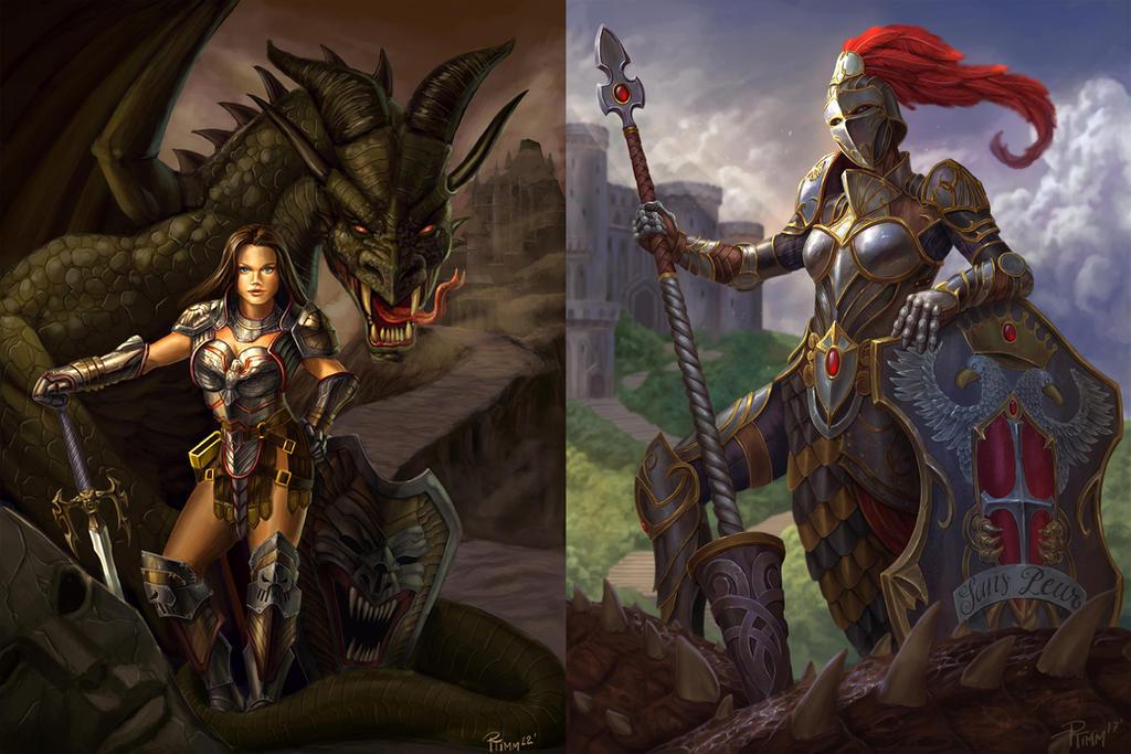 Smite Athena Knight by PTimm