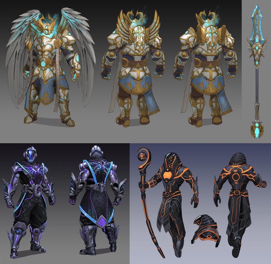 Smite 5.7 Concepts by PTimm