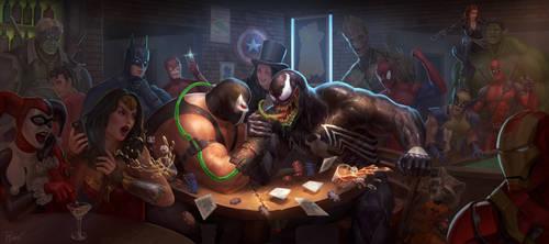 Bane vs Venom 3: Tom vs Tom by PTimm