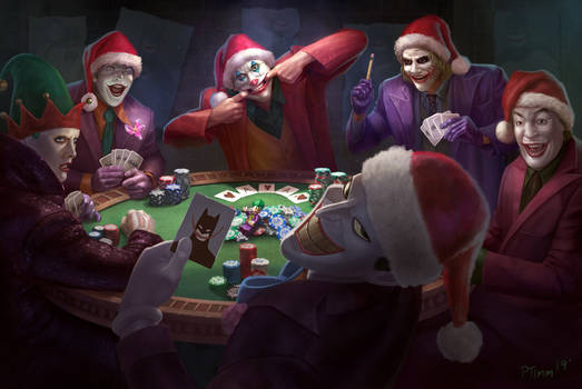 Joker's Playing Poker: Ha Ha Ho ho