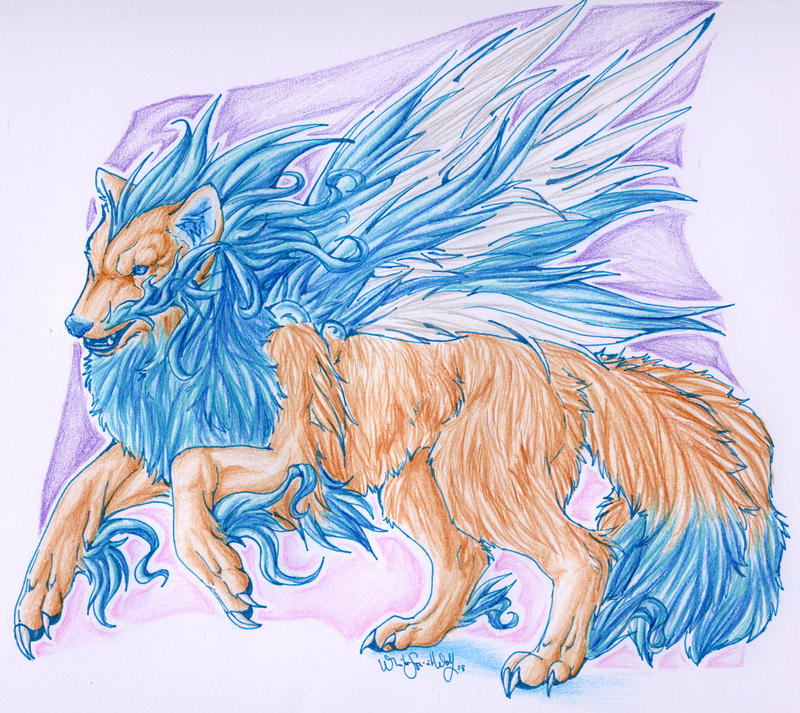 Mythical Animal by =WhiteSpiritWolf on deviantART
