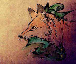 .:FoxFire:. by WhiteSpiritWolf