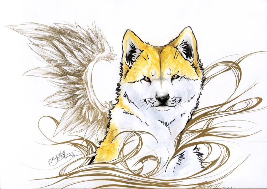 .:Hachiko:. by WhiteSpiritWolf