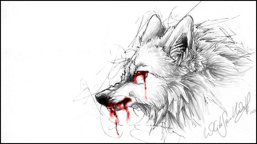 White Demon Wolf:. by WhiteSpiritWolf on DeviantArt