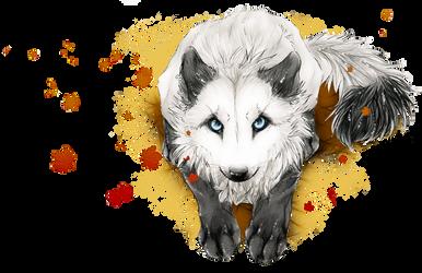 White's Autumn by WhiteSpiritWolf