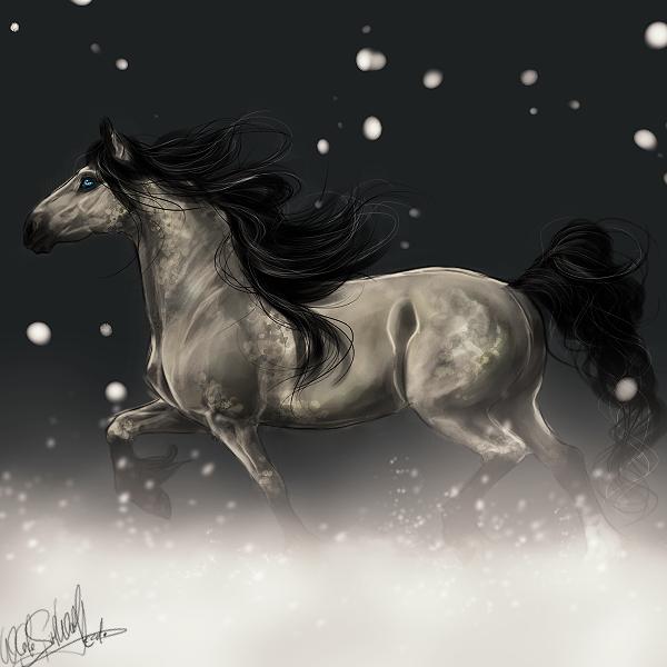 Gift.:snow elegance:. by WhiteSpiritWolf