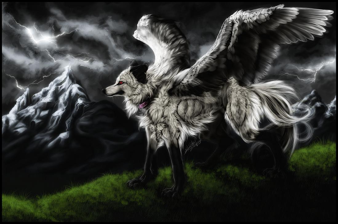 .:White Chaos:. by WhiteSpiritWolf
