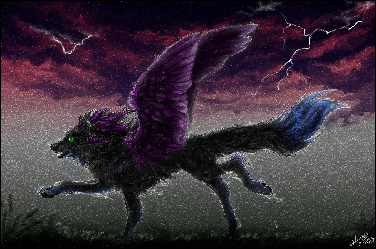 Run Raven, Run by WhiteSpiritWolf