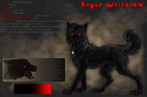 Ref-Sheet: Rogue Wolfclaw by WhiteSpiritWolf