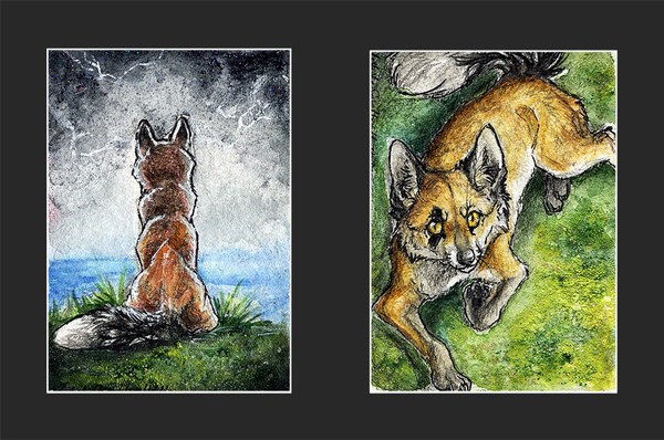 .:Be Foxy:. by WhiteSpiritWolf