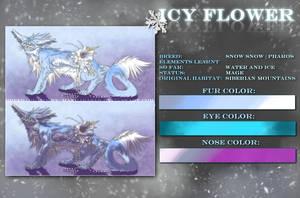 .:Icy Flower Ref-Sheet:. by WhiteSpiritWolf