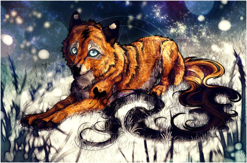 AT:Midnight Slash.:.Snow Night:. by WhiteSpiritWolf