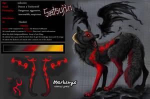 Ref-Sheet: Satsujin by WhiteSpiritWolf