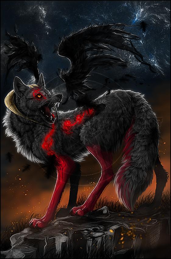 .:Burnin' Hell:. by WhiteSpiritWolf