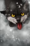 .:Striker's looking up:. by WhiteSpiritWolf