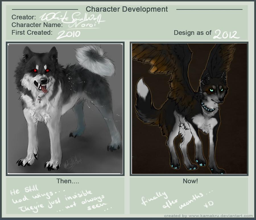 Character Development 3.0 by WhiteSpiritWolf