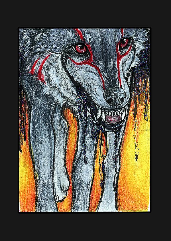 ATC .: Bleeding Soul :. by WhiteSpiritWolf