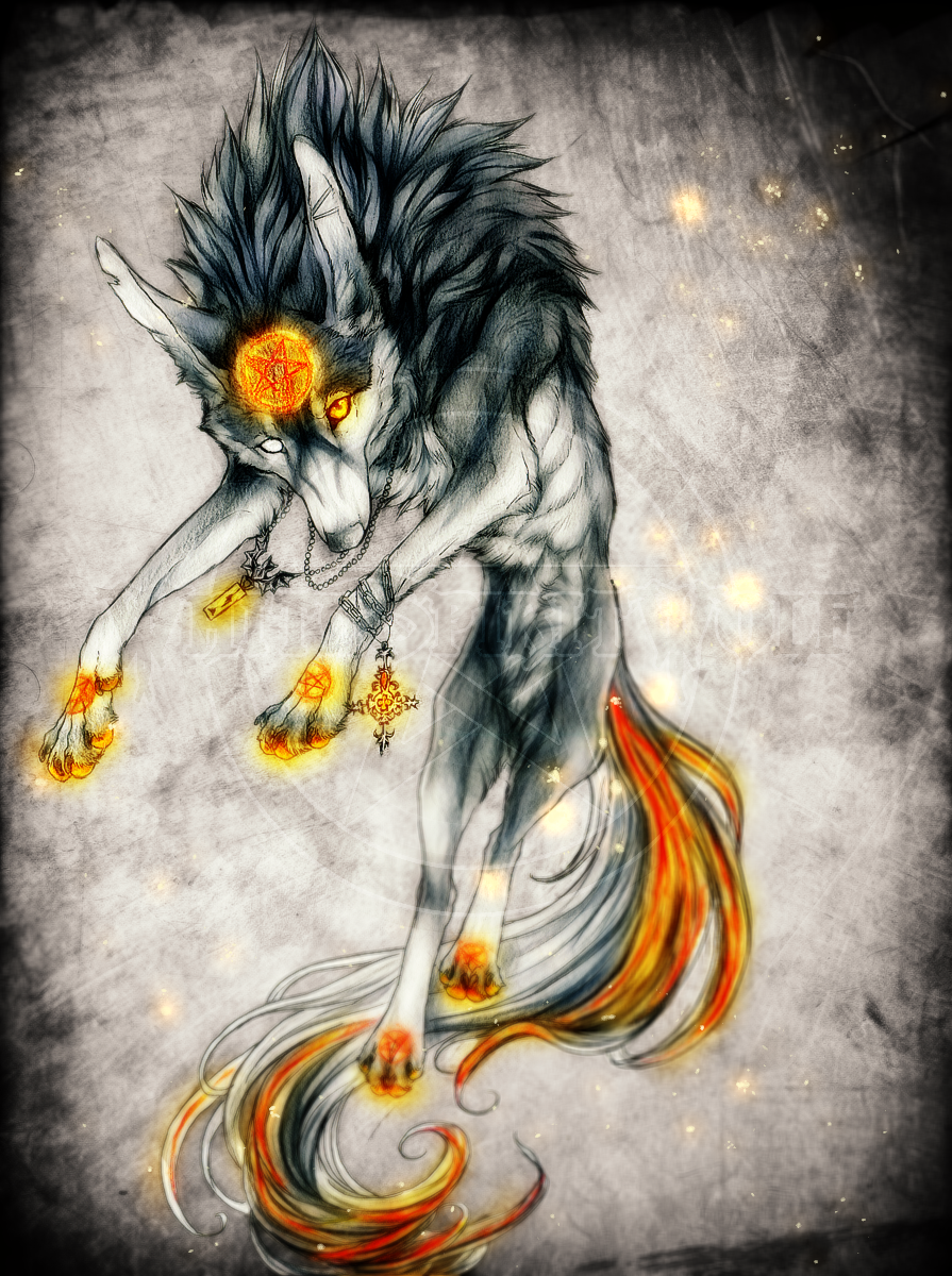 .:Glowing Ember:. by WhiteSpiritWolf