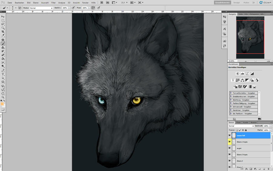Random Wolf.. by WhiteSpiritWolf