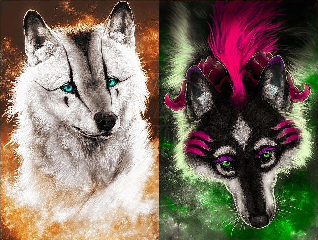 .:Galaxy Stars:. by WhiteSpiritWolf