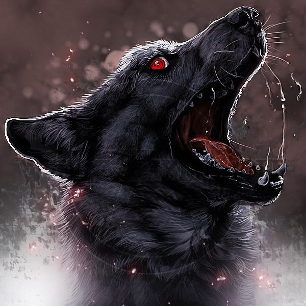 .:Black Rage:. by WhiteSpiritWolf