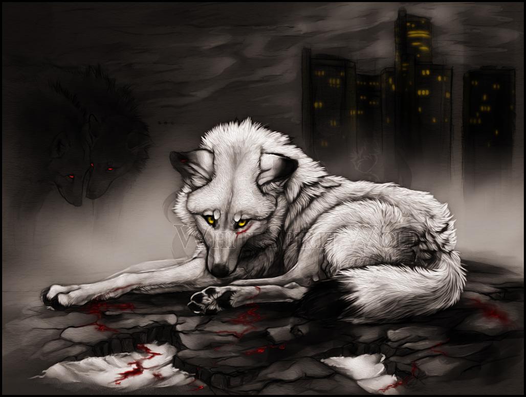 .walking dead. by WhiteSpiritWolf