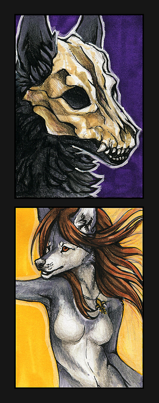 ACEO Trade -  commission by WhiteSpiritWolf